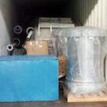 2 Silos De Cemento En Escamas 100 Ton Se Enviado A Sudamérica En 2018